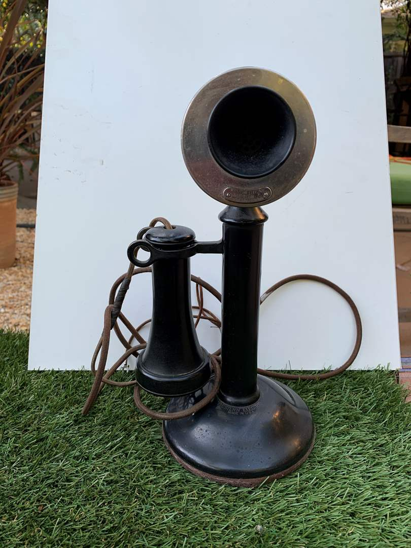 Lot # 108 Antique Western Electric Phone (main image)