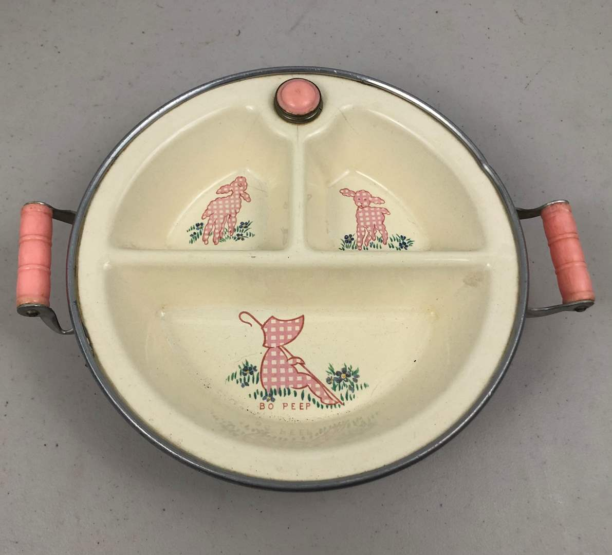 Lot # 210 Little Bo Peep Toddlers Plate (main image)