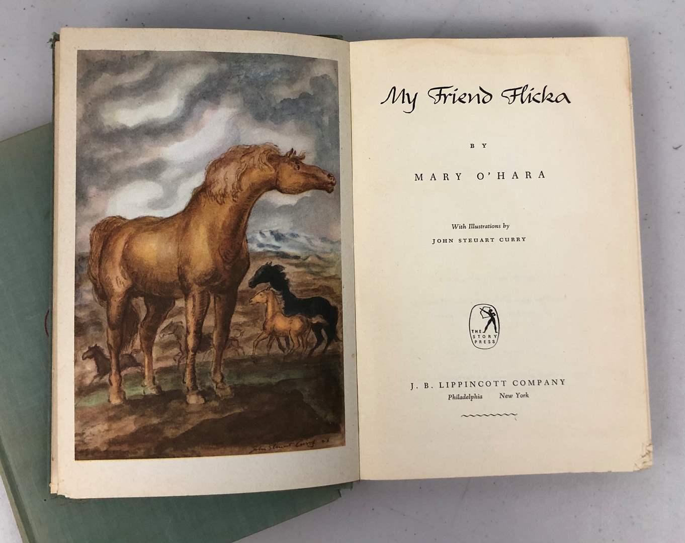 Lot # 213 Vintage Mary O'Hara Book Set (main image)