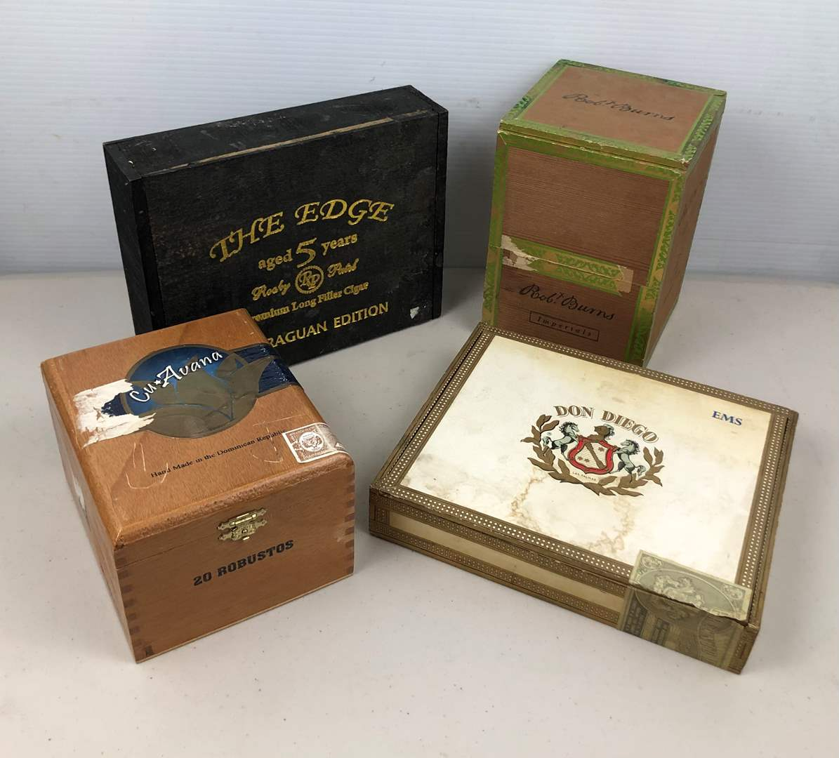 Lot # 218 Vintage Cigar Boxes (main image)