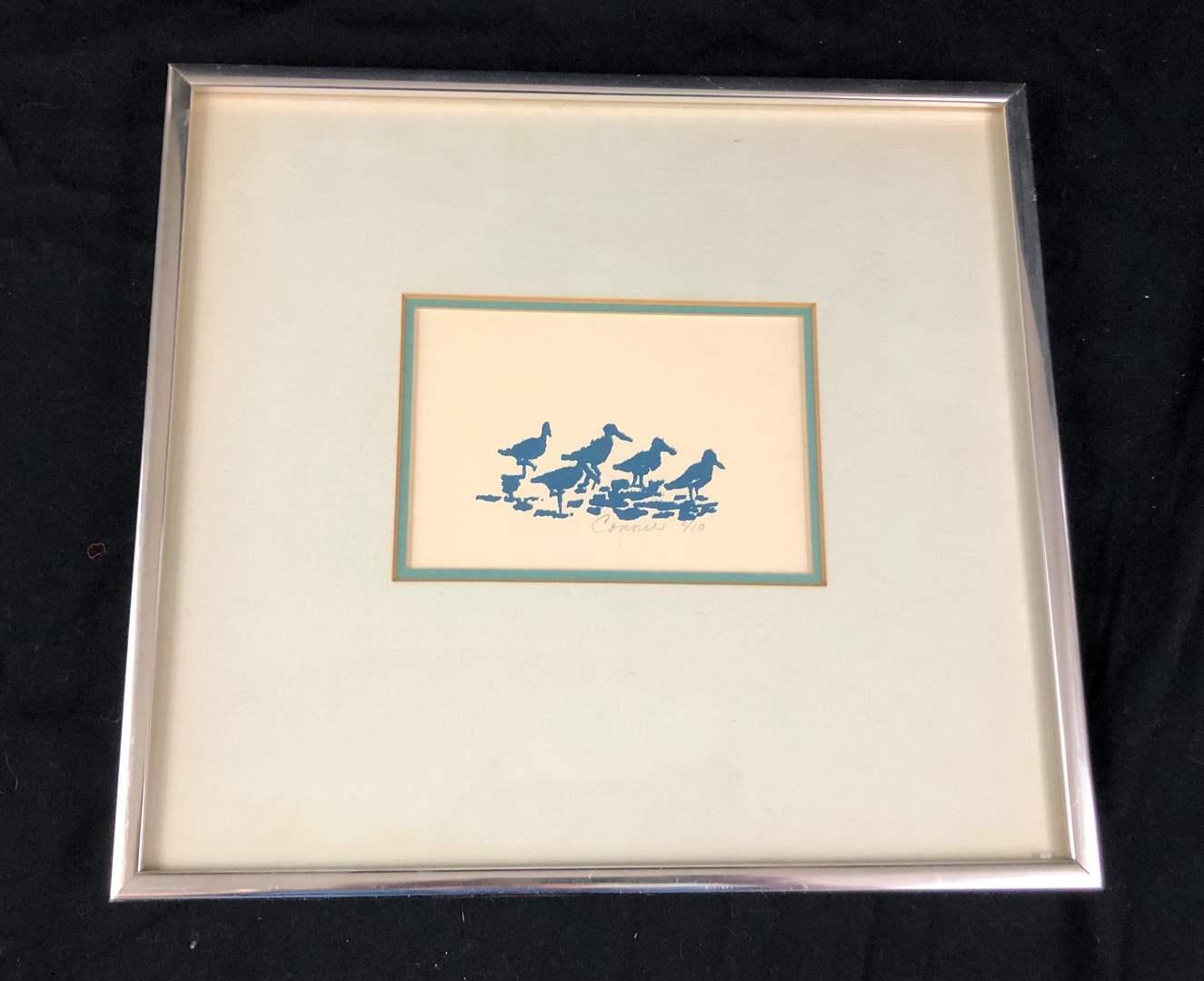 Lot # 234 Framed signed Art (main image)