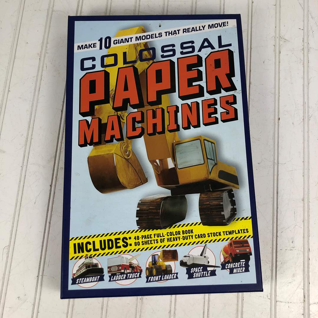 Lot # 237 Colossal Paper Machines NEVER USED (main image)