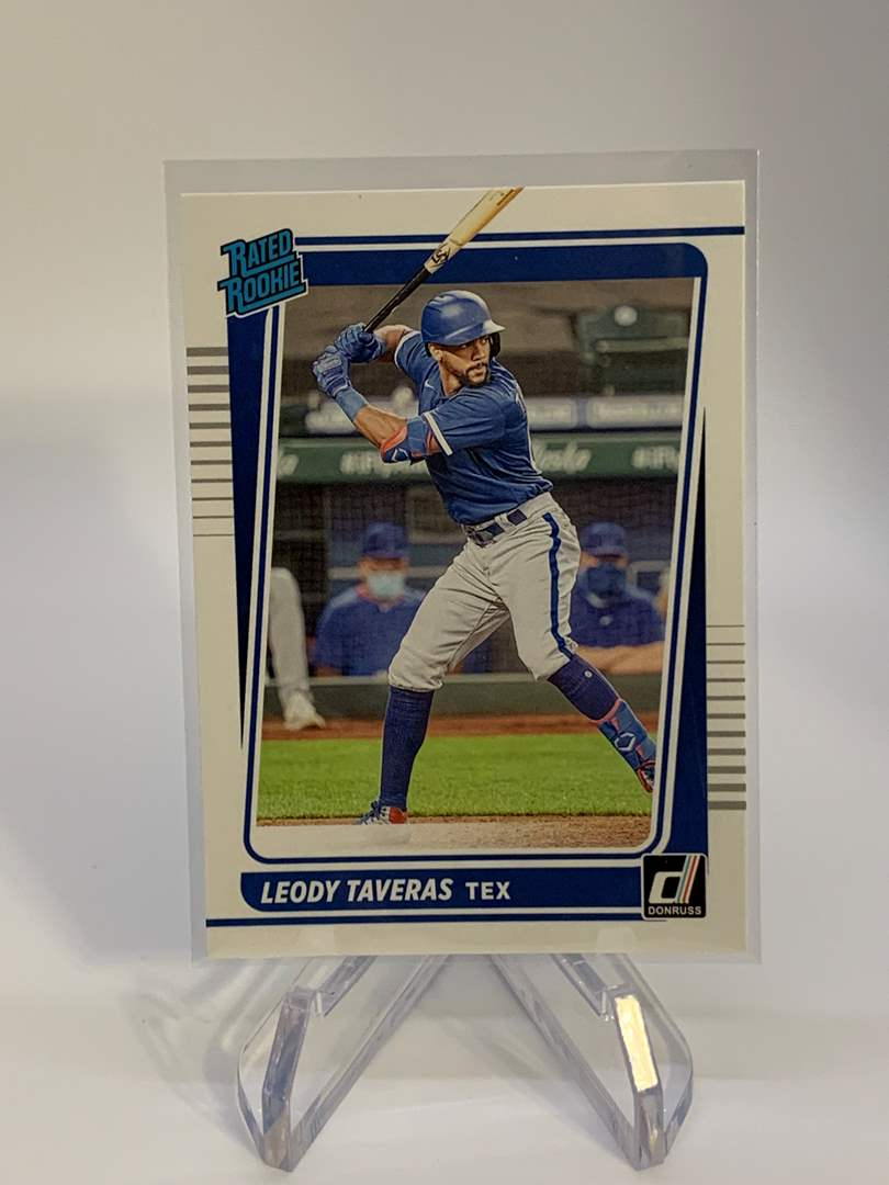 Lot # 4 2021 Panini Donruss LEODY TAVERAS Rated Rookie (main image)