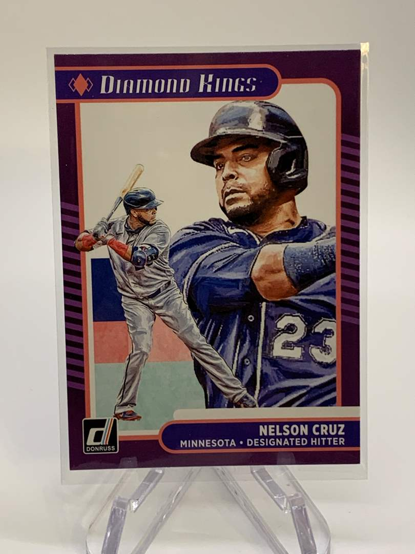 Lot # 23 2021 Panini Donruss NELSON CRUZ Diamond Kings (main image)