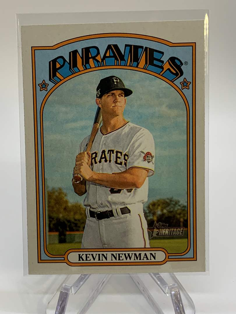 Lot # 46 2021 Topps Heritage KEVIN NEWMAN (main image)