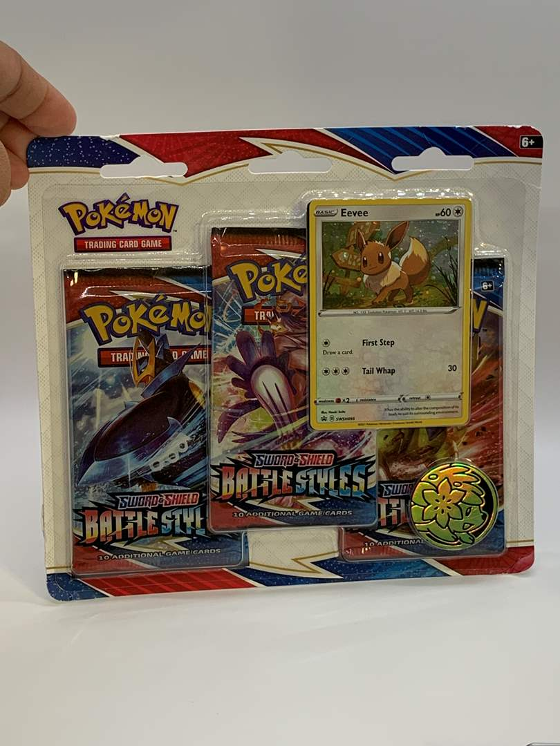 Lot # 85 Pokemon Sword & Shield Battle Styles Blister Pack (main image)