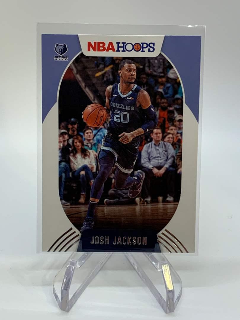 Lot # 112 2020-21 Panini NBA Hoops JOSH JACKSON (main image)