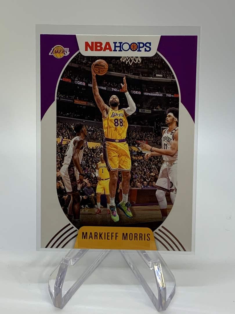 Lot # 114 2020-21 Panini NBA Hoops MARKIEFF MORRIS (main image)