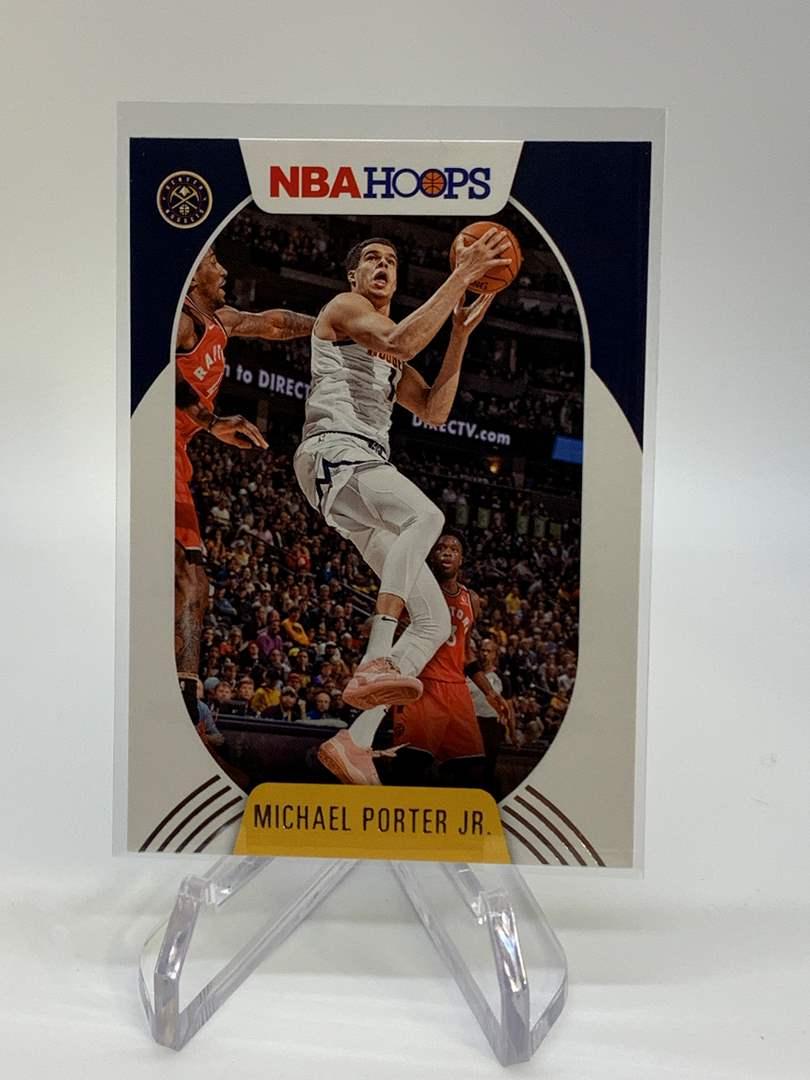 Lot # 115 2020-21 Panini NBA Hoops MICHAEL PORTER JR (main image)