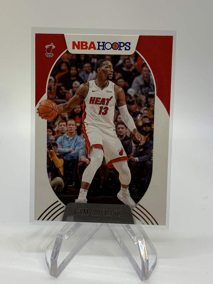 Lot # 116 2020-21 Panini NBA Hoops BAM ADEBAYO (main image)