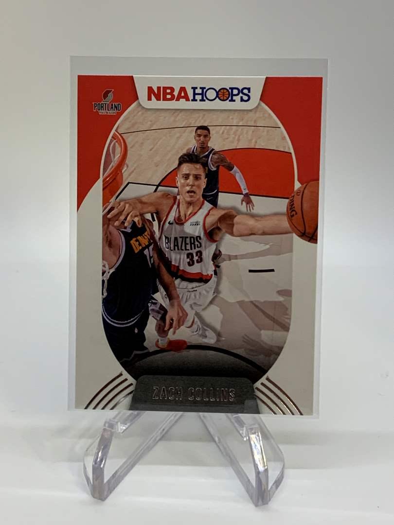 Lot # 118 2020-21 Panini NBA Hoops ZACH COLLINS (main image)