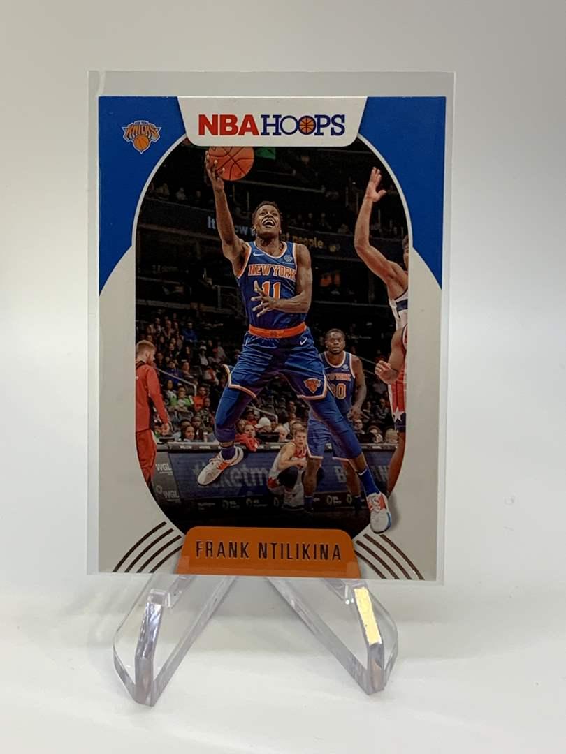 Lot # 119 2020-21 Panini NBA Hoops FRANK NTILIKINA (main image)
