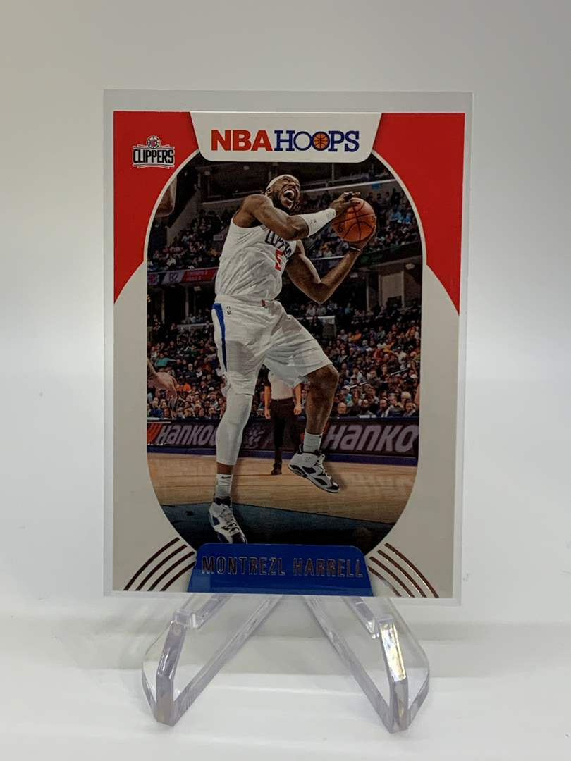 Lot # 120 2020-21 Panini NBA Hoops MONTREZL HARRELL (main image)