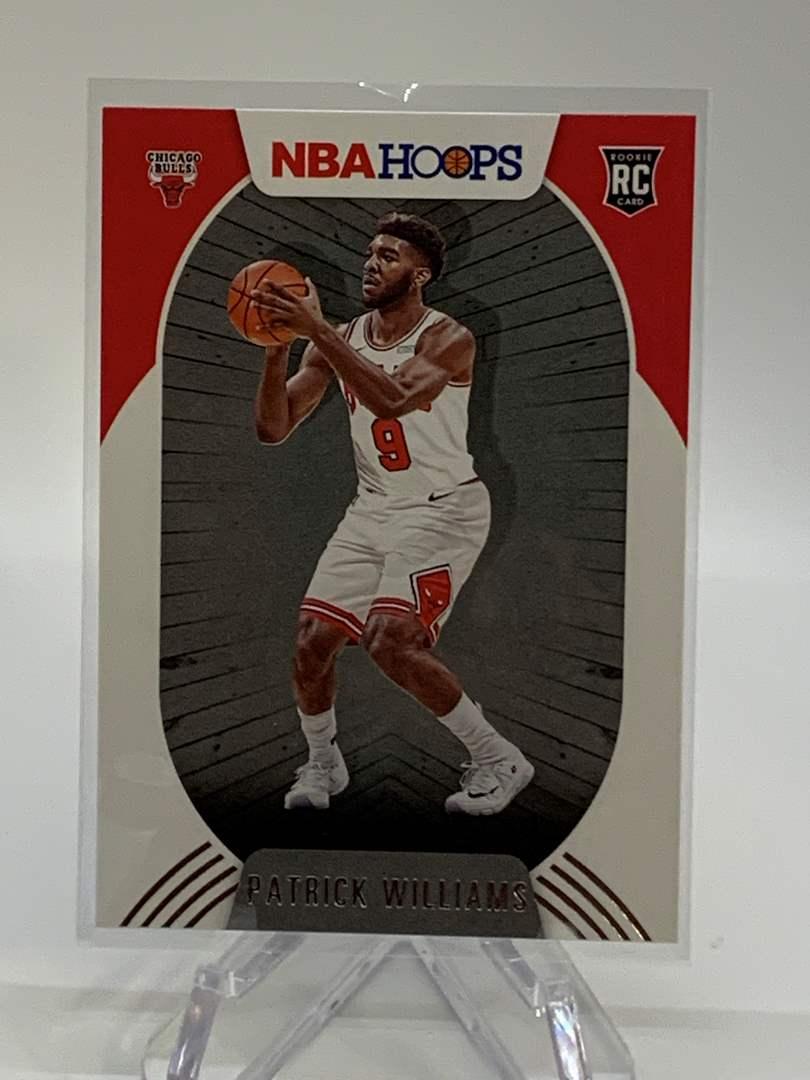 Lot # 123 2020-21 Panini NBA Hoops PATRICK WILLIAMS (main image)