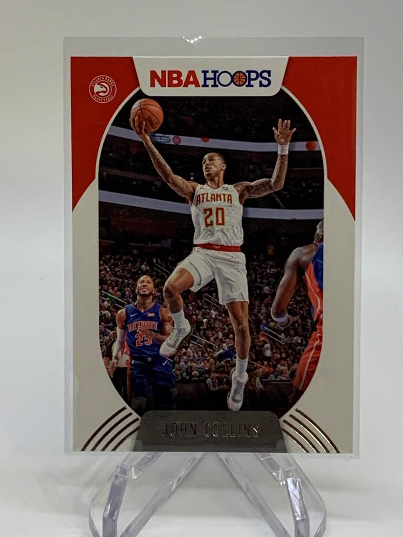 Lot # 125 2020-21 Panini NBA Hoops JOHN COLLINS (main image)