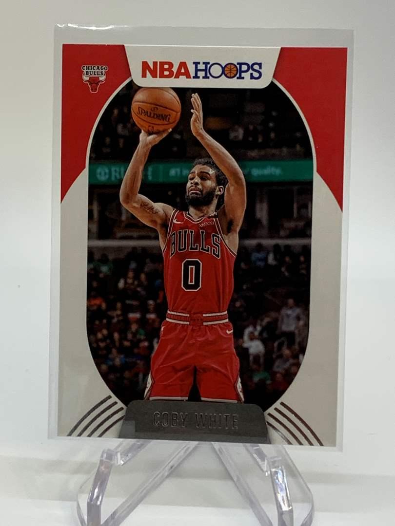 Lot # 129 2020-21 Panini NBA Hoops COBY WHITE (main image)