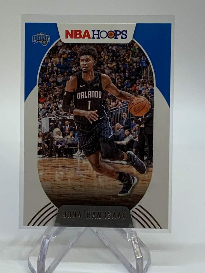 Lot # 134 2020-21 Panini NBA Hoops JONATHAN ISAAC (main image)
