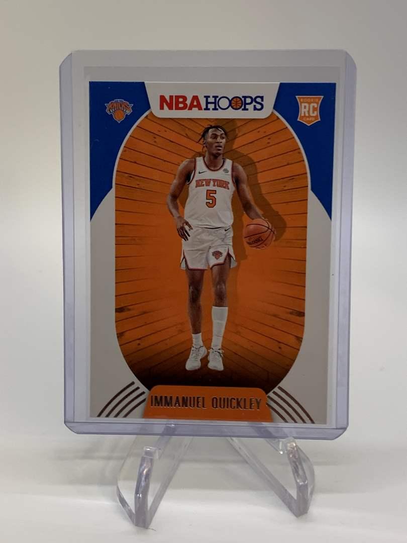 Lot # 136 2020-21 Panini NBA Hoops IMMANUEL QUICKLEY (main image)
