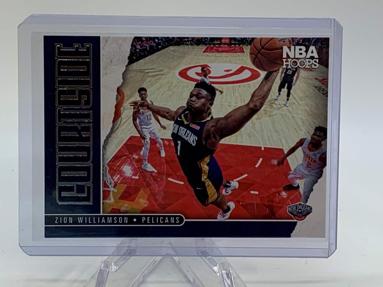 Lot # 141 2020-21 Panini NBA Hoops ZION WILLIAMSON Courtside (main image)