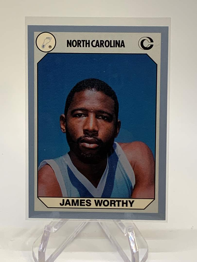 Lot # 147 1990 Collegiate Collections JAMES WORTHY (main image)