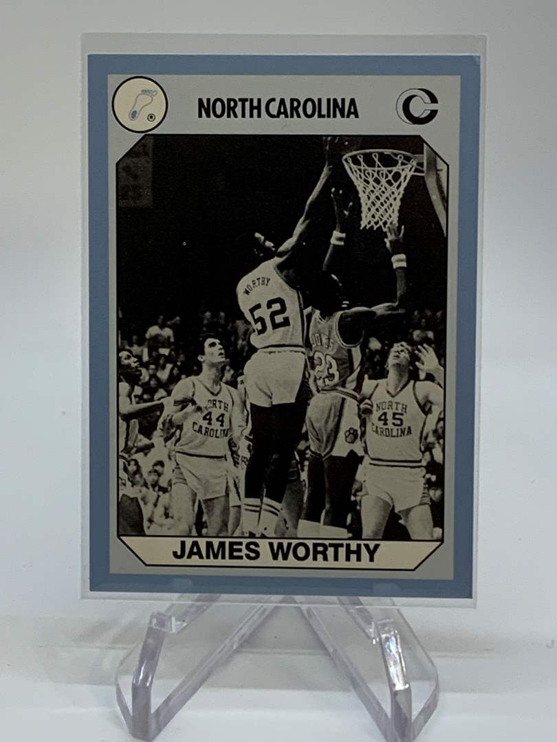 Lot # 148 1990 Collegiate Collections JAMES WORTHY (main image)