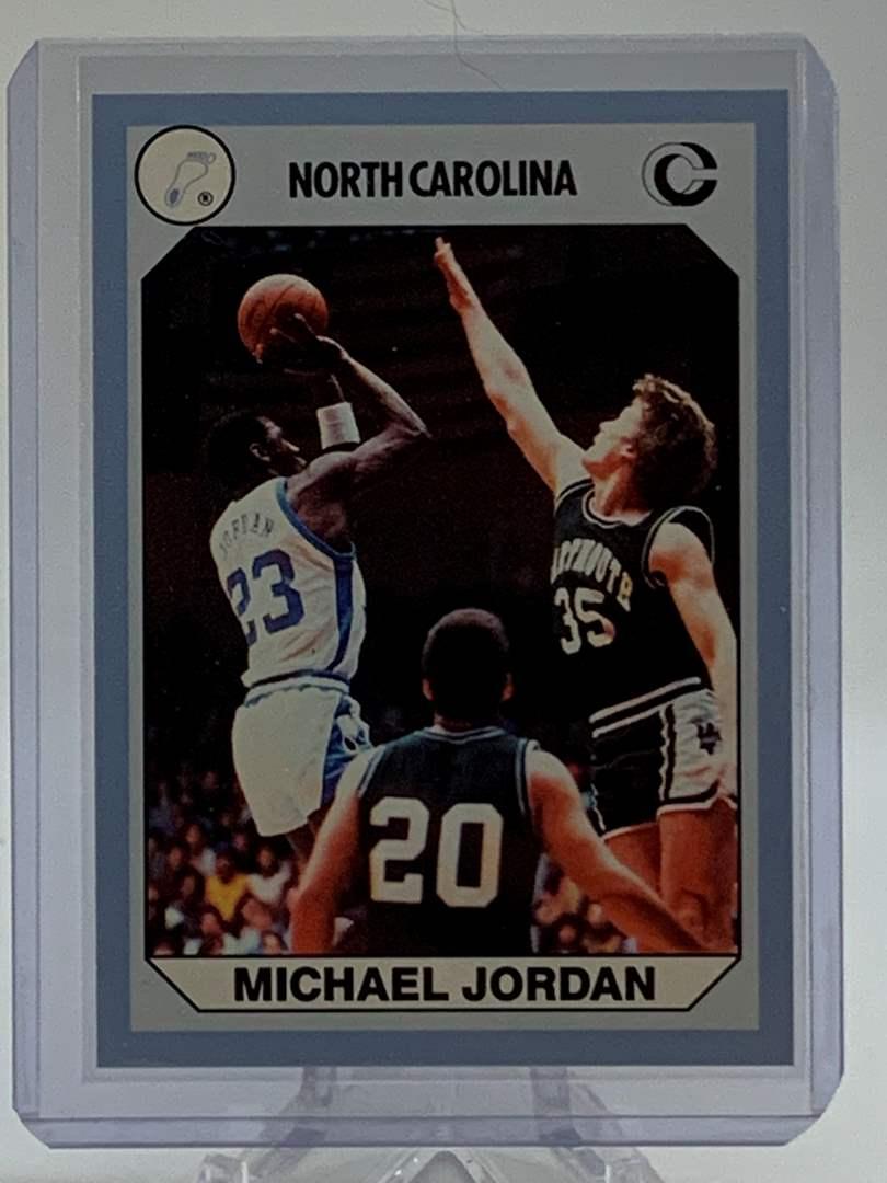 Lot # 149 1990 Collegiate Collections MICHAEL JORDAN (main image)