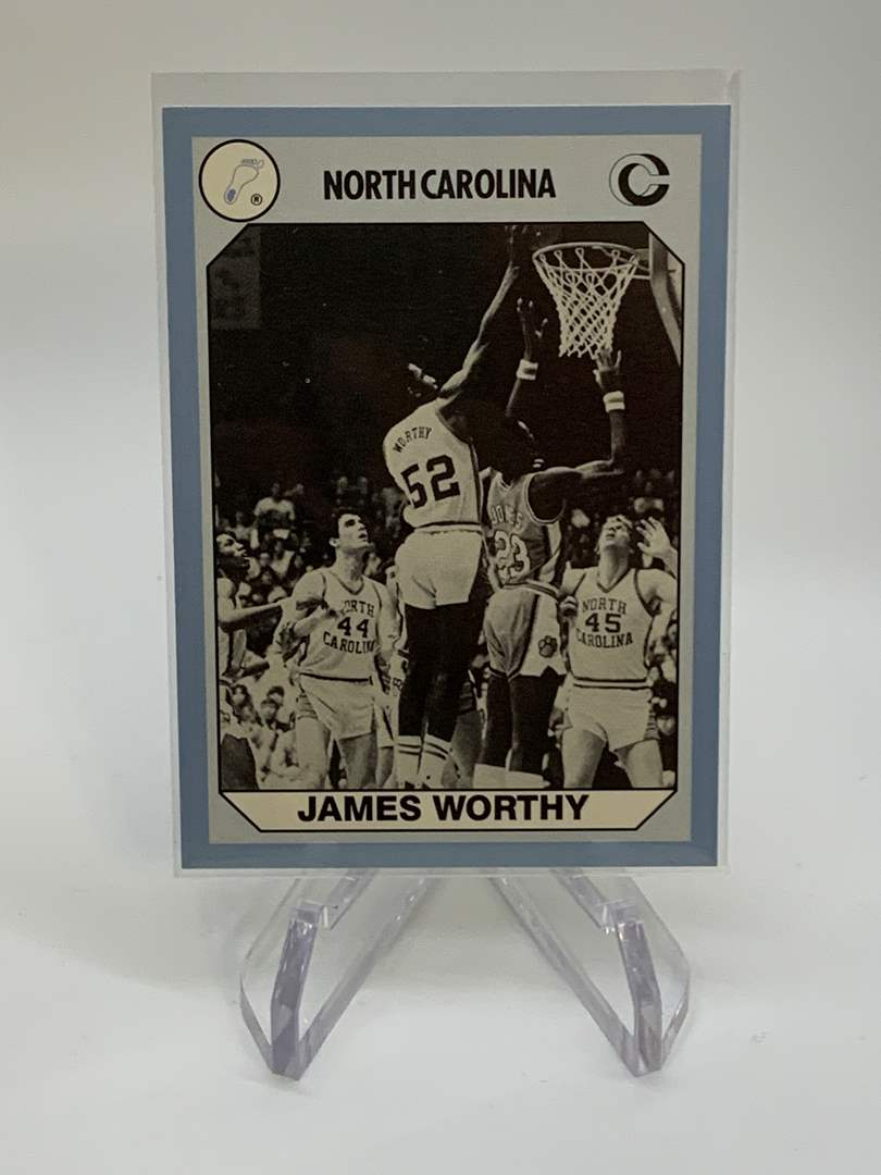 Lot # 154 1990 Collegiate Collections JAMES WORTHY (main image)