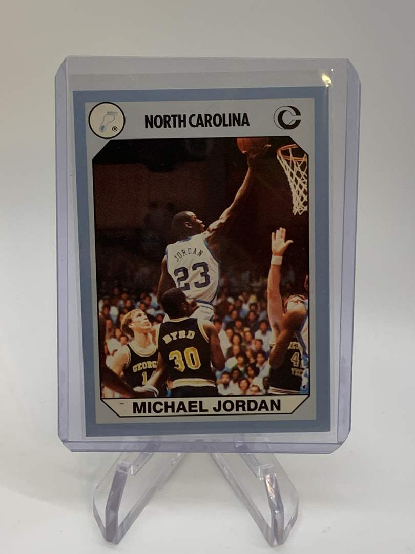 Lot # 156 1990 Collegiate Collections MICHAEL JORDAN (main image)