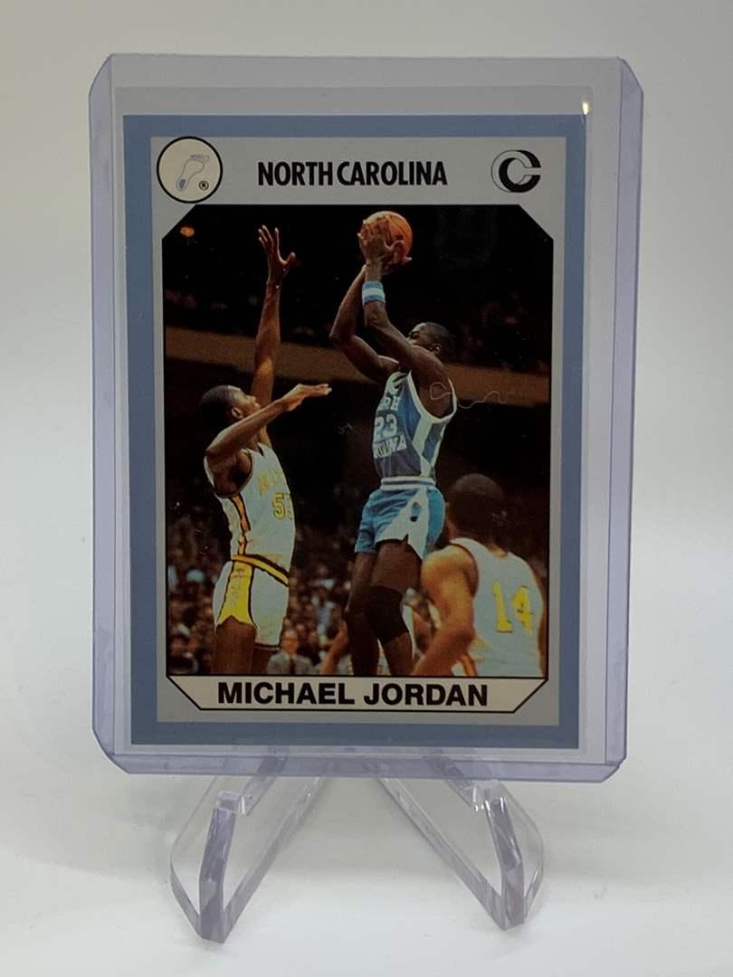 Lot # 157 1990 Collegiate Collections MICHAEL JORDAN (main image)