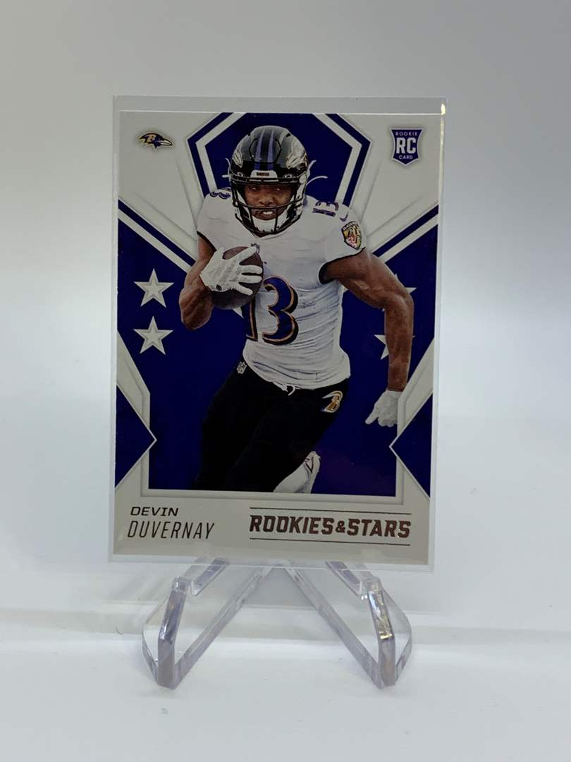 Lot # 194 2020 Panini Rookies & Stars DEVIN DUVERNAY Action Packed (main image)