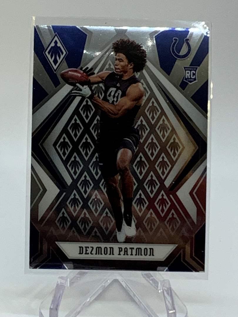 Lot # 220 2020 Panini Phoenix DEZMON PATMON (main image)