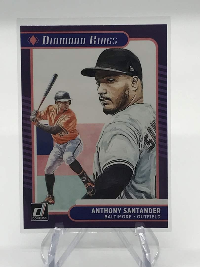 Lot # 29 2021 Panini Donruss Diamond Kings ANTHONY SANTANDER (main image)