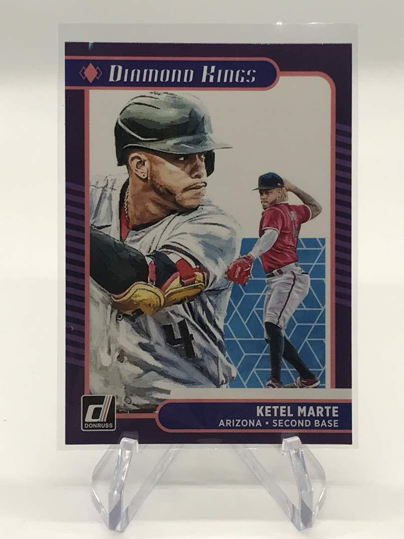 Lot # 30 2021 Panini Donruss Diamond Kings KETEL MARTE (main image)