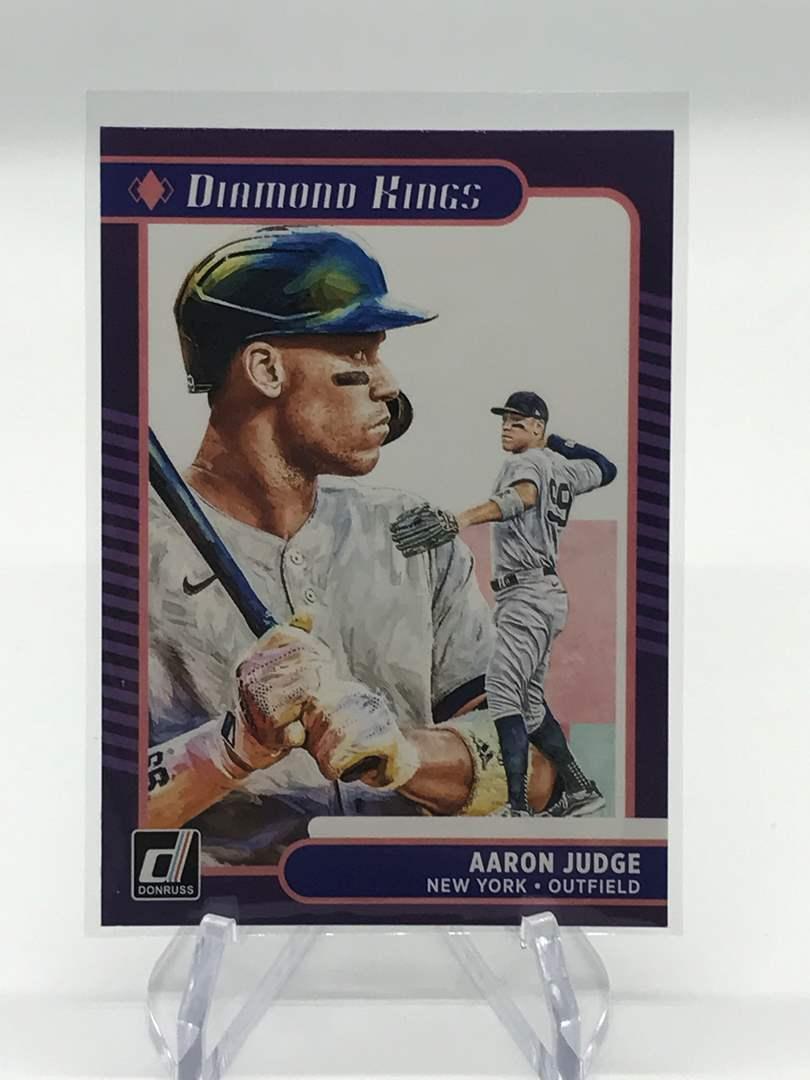 Lot # 31 2021 Panini Donruss Diamond Kings AARON JUDGE (main image)