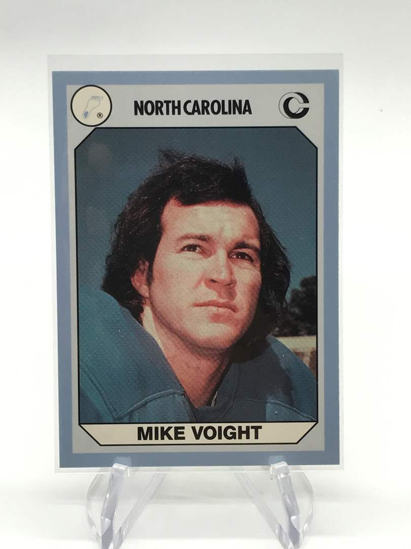 Lot # 75 1990 North Carolina Collegiate Collection MIKE VOIGHT (main image)
