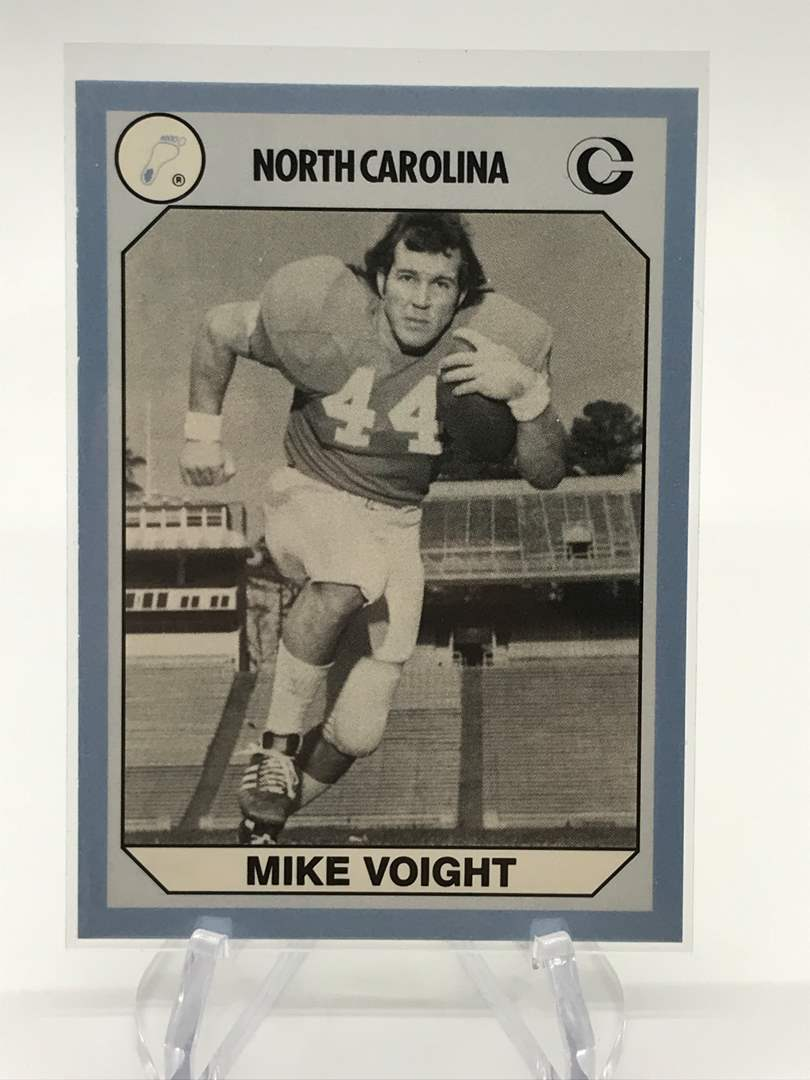 Lot # 76 1990 North Carolina Collegiate Collection MIKE VOIGHT (main image)