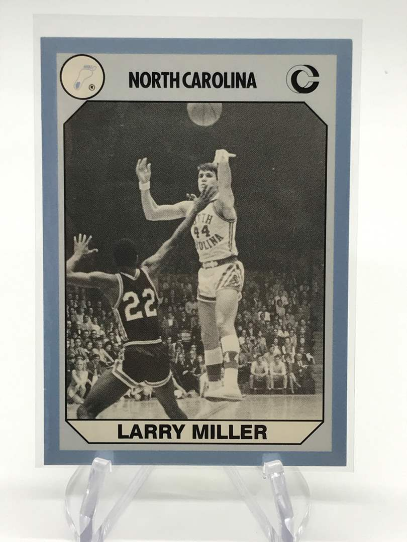 Lot # 78 1990 North Carolina Collegiate Collection LARRY MILLER (main image)