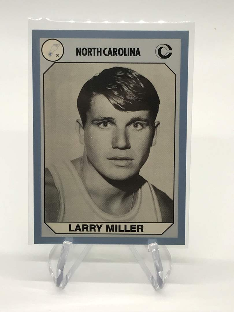 Lot # 79 1990 North Carolina Collegiate Collection LARRY MILLER (main image)
