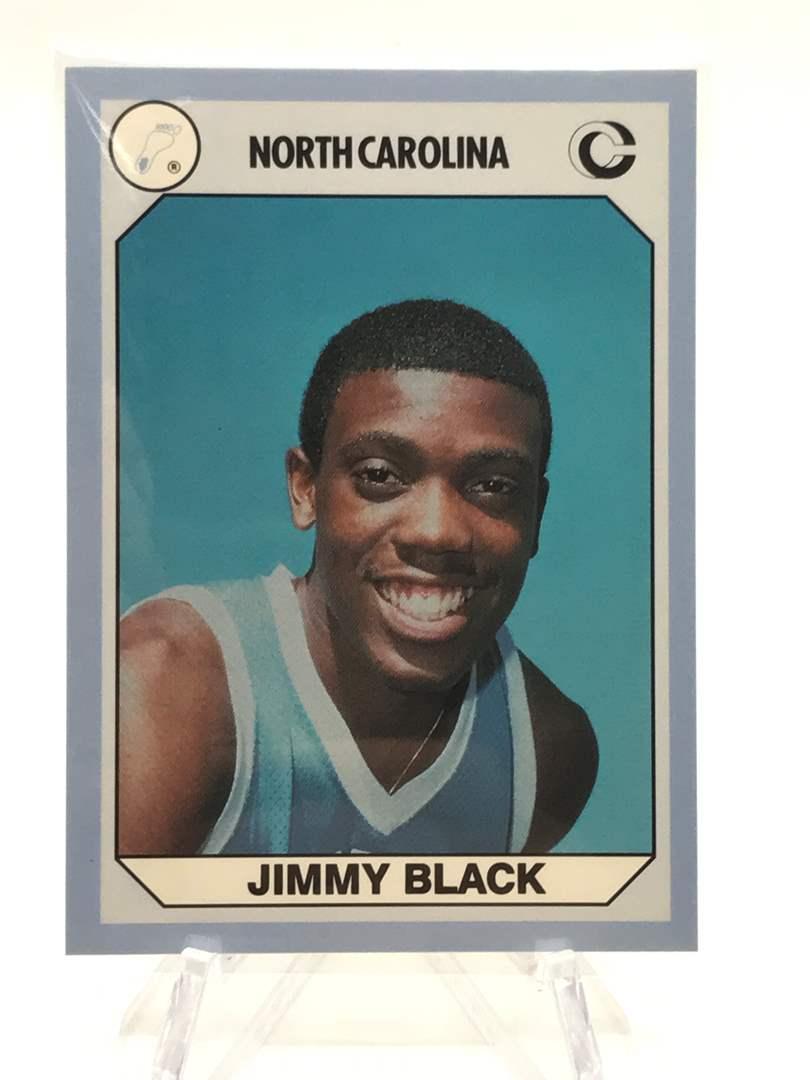 Lot # 81 1990 North Carolina Collegiate Collection JIMMY BLACK (main image)
