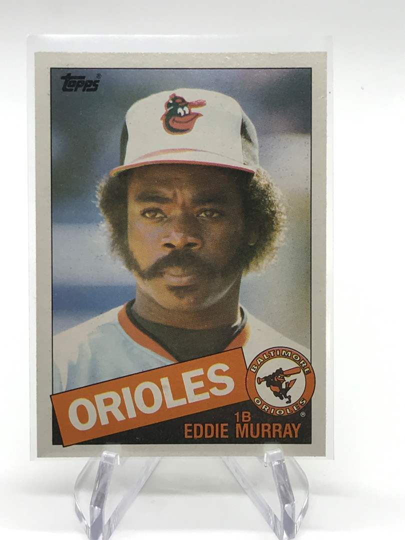 Lot # 88 1985 EDDIE MURRAY (main image)