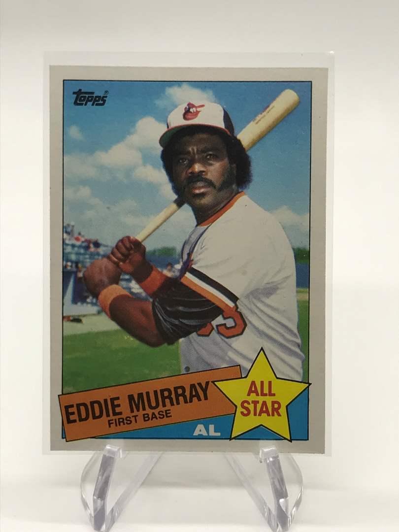 Lot # 89 1985 Topps All Star EDDIE MURRAY (main image)