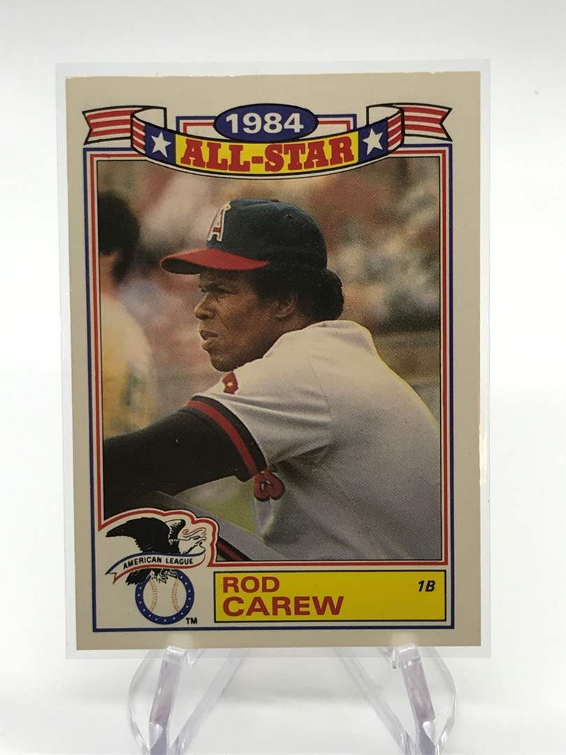 Lot # 92 1985 Topps All Star ROD CAREW (main image)