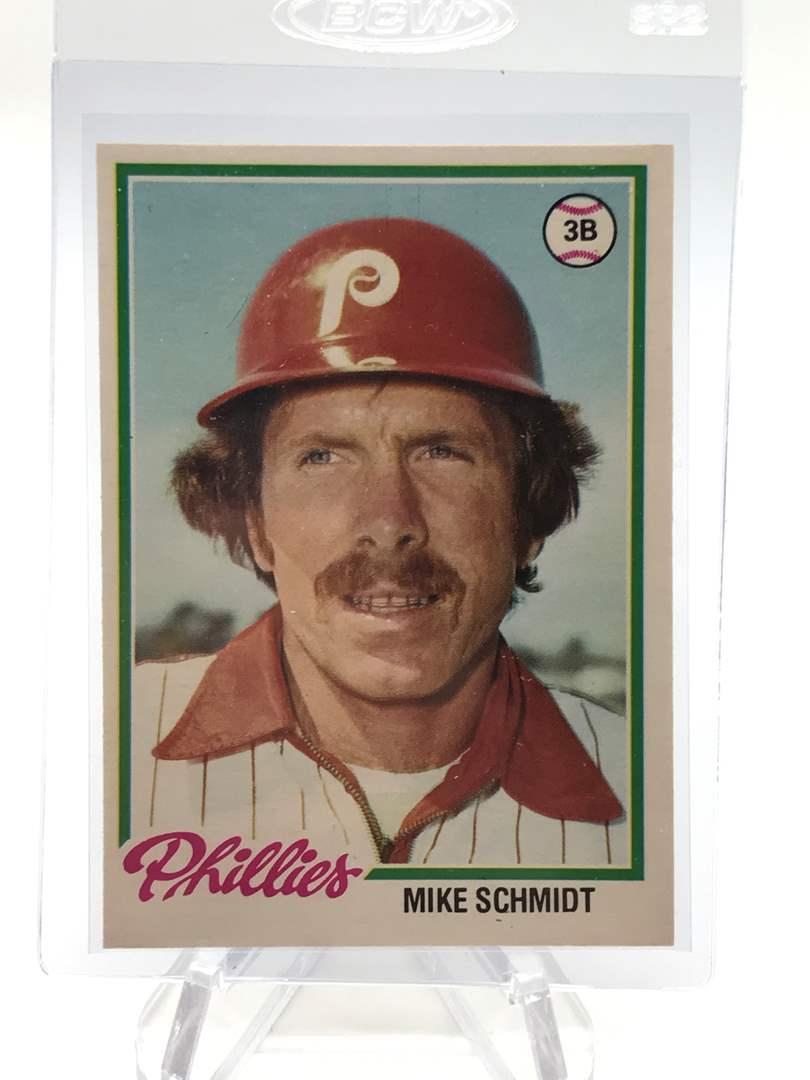 Lot # 95 1978 O-Pee-Chee MIKE SCHMIDT (main image)
