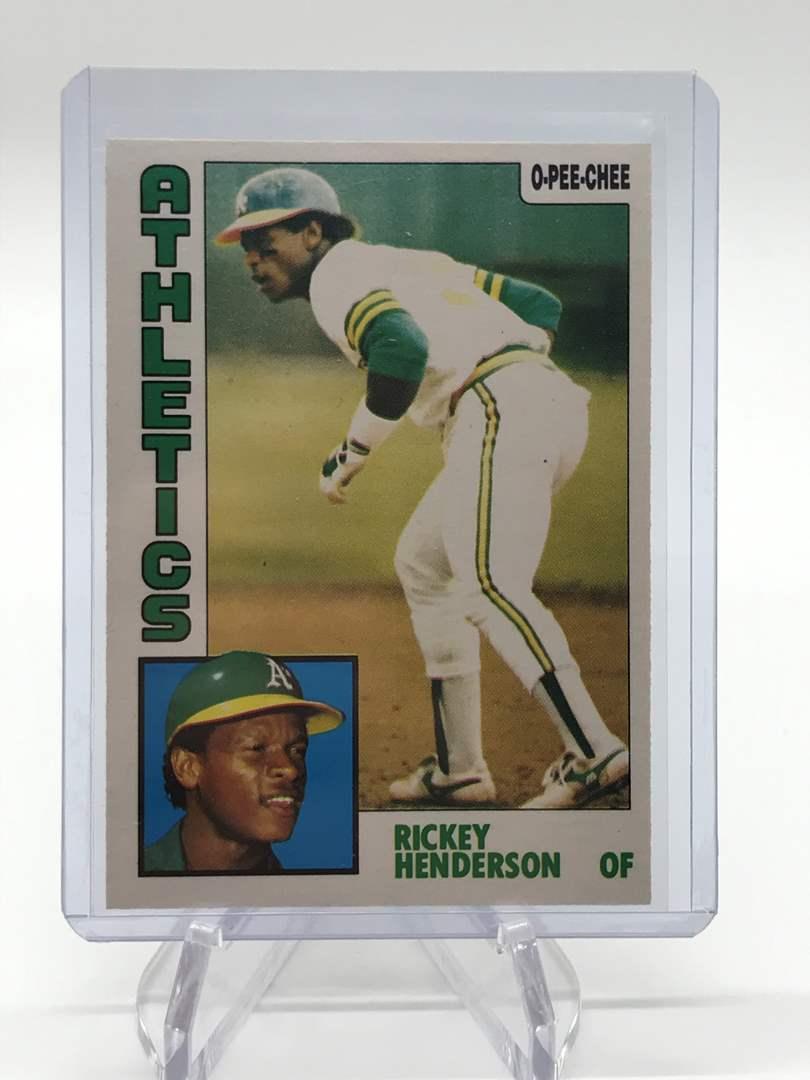 Lot # 98 1984 O-Pee-Chee RICKEY HENDERSON (main image)