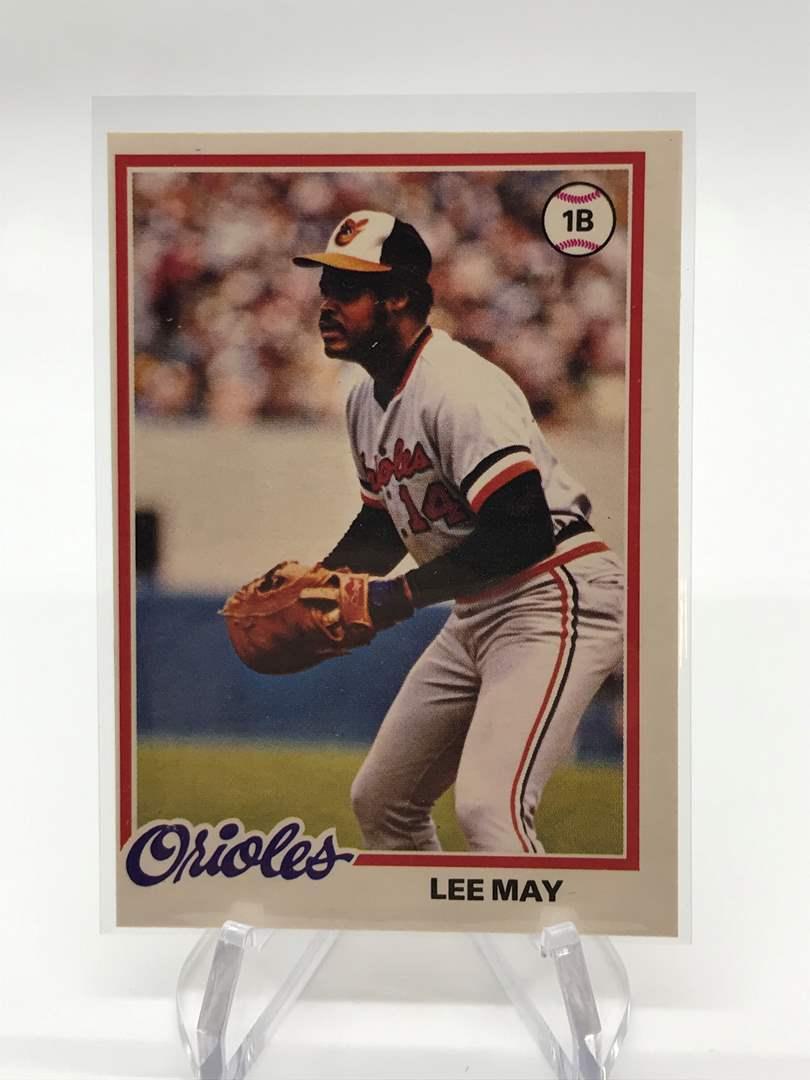 Lot # 100 1978 O-Pee-Chee LEE MAY (main image)