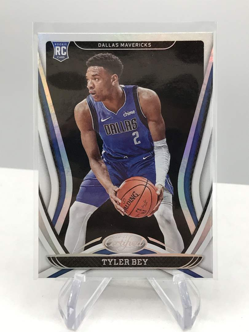 Lot # 107 2020-21 Panini Certified RC TYLER BEY (main image)