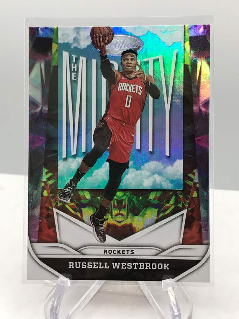 Lot # 115 2020-21 Panini Certified The Mighty RUSSELL WESTBROOK (main image)