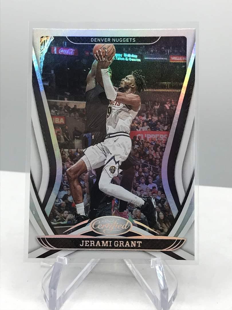Lot # 124 2020-21 Panini Certified JERAMI GRANT (main image)