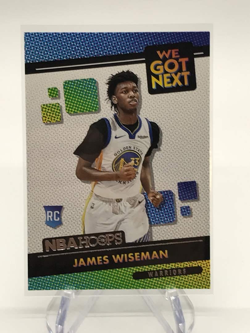 Lot # 152 2020-21 PANINI NBA HOOPS We Got Next RC JAMES WISEMAN (main image)