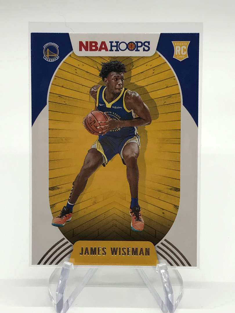 Lot # 153 2020-21 PANINI NBA HOOPS RC JAMES WISEMAN (main image)